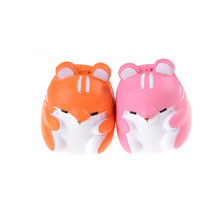 New Arrived 8CM Jumbo Cute Hamster Mouse Squishy Slow Rising Sweet Scented Soft Doll Phone Strap(China)