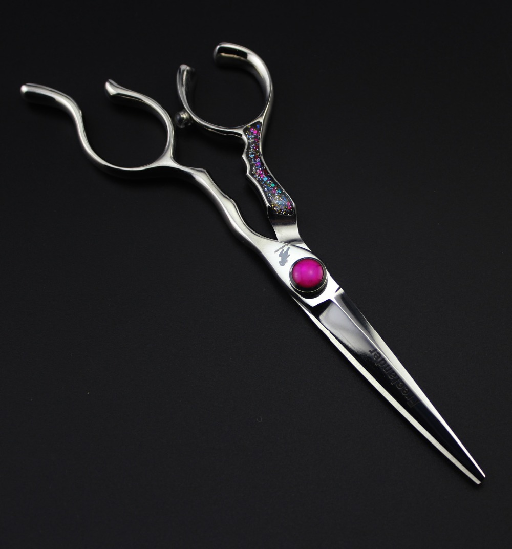 Razor Sharp Professional Hairdressing Scissors Japanese 440C Hair Shears for Barbers Cutting Stylists with case<br>
