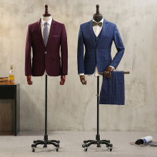 1pcs Universal wheel Male mannequins fashion dress Upper-Body mannequin adult model for clothes cosmetology window Display model