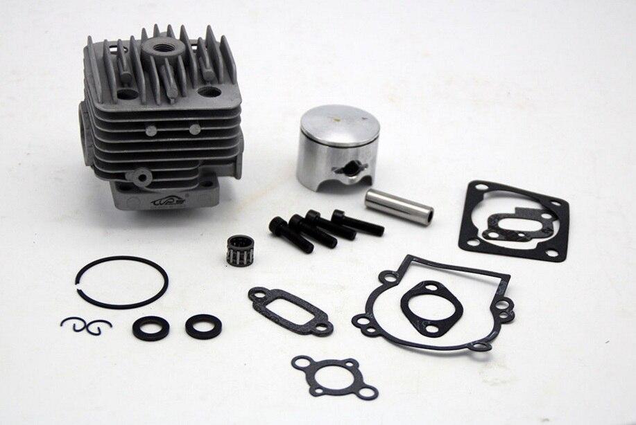 35cc 4 Bolt Cylinder Head Piston Set fit TSRC Engine ONLY 1/5 Baja 5B 5T 5SC<br>