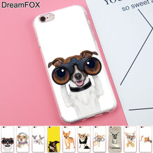 Buy DREAMFOX K056 Danger Chihuahua Soft TPU Silicone Case Cover Apple iPhone 8 X 7 6 6S Plus 5 5S SE 5C 4 4S for $1.27 in AliExpress store