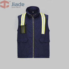 Jiade Men's Flame Resistant Vest Men Work Vest reflective Vest FR Vest(China)