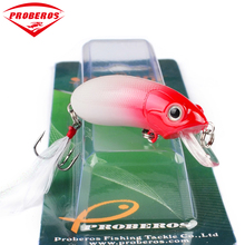 "1pc Top Fishing Lures Exported to USA Market Fishing Tackle 0.362oz-/10.27g/2.5""-6.35cm Fishing Bait Retail Box(China)"