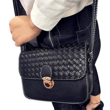 2018Fashion Brand Faux Leather Messenger Bag Famous Brand Women Shoulder Bag Flap Women Clutch Bag Small Crossbody bag Sacos(China)