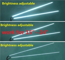 "5set Brightness adjustable LED backlight kit 540mm,work for 15""17""19""22""22 inch 24"",upgrade LCD screen to LED Monitor"