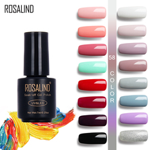 ROSALIND 7ML Pure Colors UV Gel Manicure DIY Gel Nail Polish 58 Colors Nail Art Nail Gel Polish UV LED Soak-off Gel Varnishes