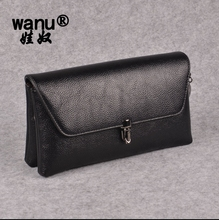 WANU 2017 Women Fashion Bags Female Messenger Bag Ladies Shoulder Crossbody Totes High Quality Leather Bags As Wife Gift(China)