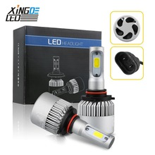 Car LED Headlight H7 H4 LED HB3/9005 HB4/9006 H8/H11 H1 H3 9012 6000K Auto Head Light Bulb(China)
