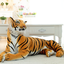 Animals Tiger Stuffed Plush Toy Dolls 30CM Children Baby Kids Birthday Gift Home Car Decoration Tiger Stuffed Toys(China)
