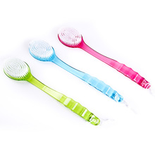 Long Shower 1 Pcs Detergent Massager Skin Bath Body Brush Spa Hand Clean(China)