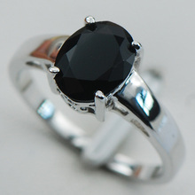 Black onyx  925 Sterling Silver Wedding Party Attractive Design Ring Size 5 6 7 8 9 10 11 12 PR12  Min order is $10