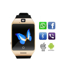 Bluetooth Smart Watch QS18 With Camera Facebook Whatsapp Twitter Sync SMS Support SIM TF Card  Smart Watches For Women men PA365