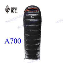 A700 white DUCK down 2015 new arrival Black Ice high quality Hybrid winter outdoor camping sleeping bag(China)