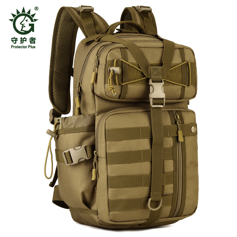 Mens bags 30 liters Waterproof nylon backpack military camouflage high-quality wear-resisting travel leisure female bag<br>