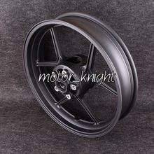 Black Motorcycle Front Wheel Rim For KAWASAKI ZX-10R 06-09 ZX-6R 05-12