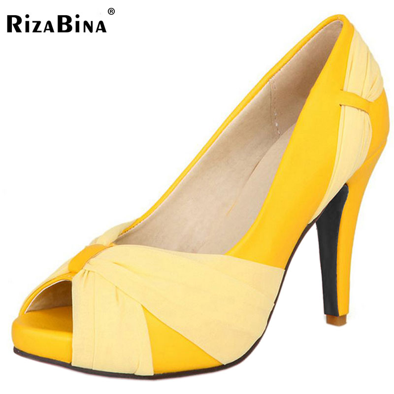 free shipping high heel shoes women sexy dress footwear fashion pumps P12895 EUR size 31-43<br>