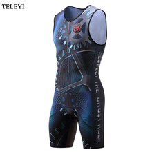 2017 TELEYI Men Team Sports Clothing suit  Bike Siamese clothes Cycle Outdoor Cycling Wear Summer Bicycle Bike clothes