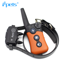 Ipets PET619-1 330m Rechargeable&Waterproof Dog Training Collar -Vibration/Static Shock/Tone Training Stimulations for All Dogs