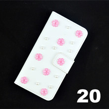 caseii 3d rose Bling Crystal Diamonds bow PU leather wallet cover Elephone G5
