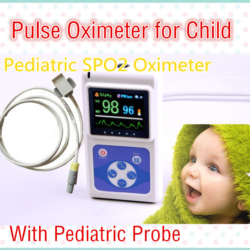 2016 Color  Pediatric / Child TFT Handheld Pulse Oximeter+Free Software -Spo2 Monitor Blood Pressure Monitor Pulse oximeter<br><br>Aliexpress