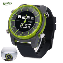 2017 New 1500 long-time standby time Smart Watch Waterproof IP68 for Swimming Message Reminder Remote Camera Sport Smartwatch