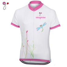 NEW custom women 2017 cycling jersey bike riding clothing ropa ciclismo white pro team clothes sport summer Breathable Polyester
