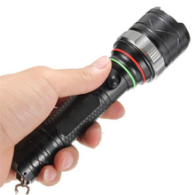 5 Modes Zoomable Focus Torch XML-T6 LED Lamp Flashlight  2000 Lumens Light