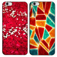 Fashion cute colorful printing pattern Hard Plastic cover case Protective Back Cover Capa Funda Coque for Apple iphone 3 3G 3GS