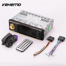 Vehemo 4.1'' inch HD Car MP5 Player Bluetooth Music FM w/Steering Wheel Remote Control(China)