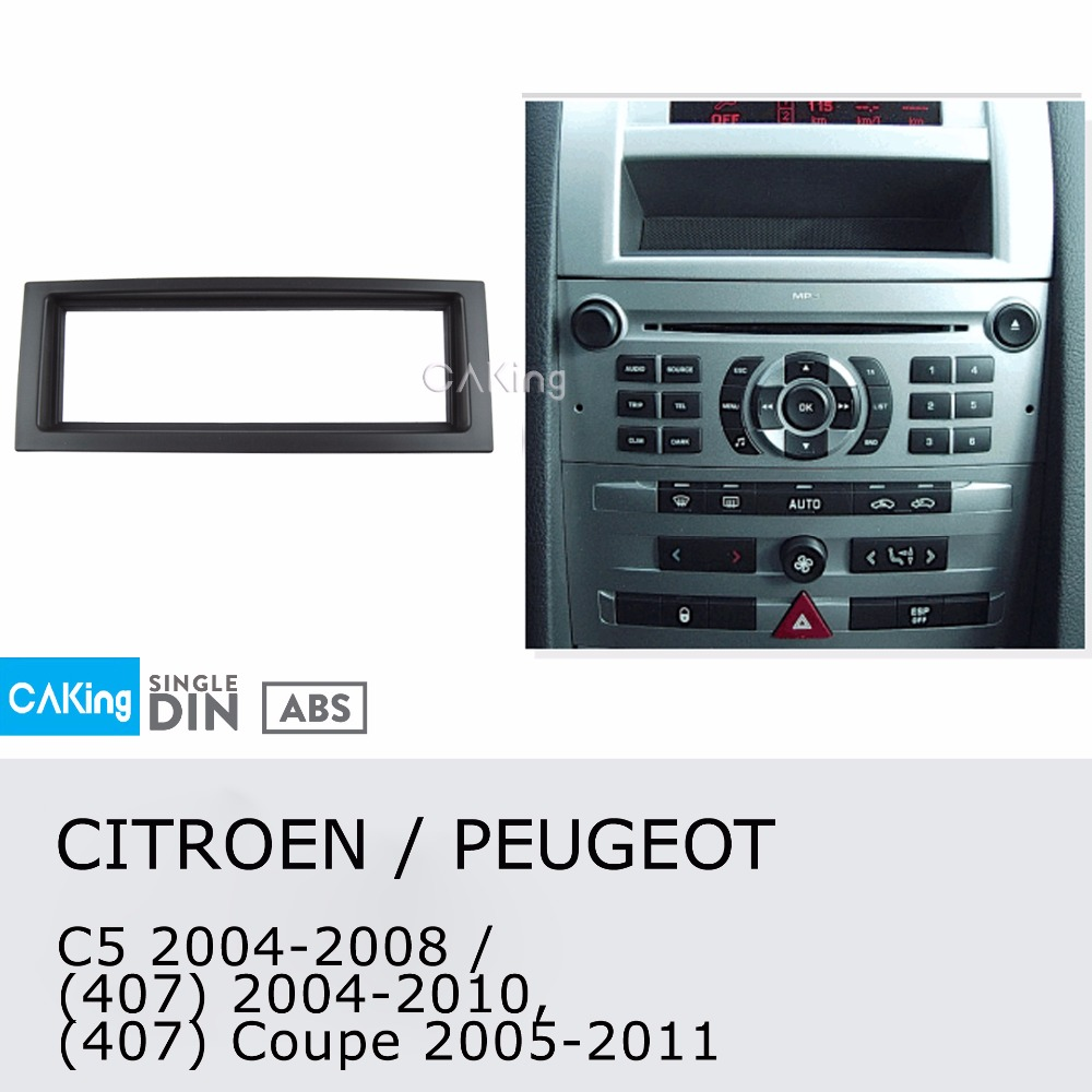 Citroen Single DIN CD Radio Stereo Facia Fascia Adaptor Plate Panel Fitting Kit
