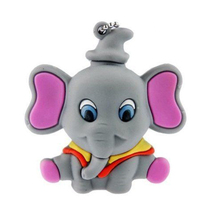 Amthin usb flash drive 64g pen drive 32g pendrive 16g u disk 8g 4g  Elephant model Hot Sale pendrive Usb2.0 flash free shipping