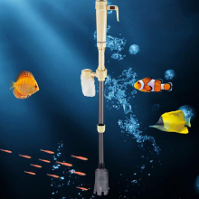 Aquarium Battery Syphon Auto Fish Tank Water Vacuum Gravel Filter Cleaner Pump Easy To Install And Operate