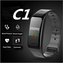 Buy Bluetooth Smart Band Blood Pressure & Heart Rate Monitor Wristband Waterproof Fitness Bracelet Sleep Tracker watch pk mi band 2 for $17.62 in AliExpress store