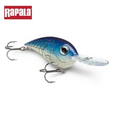 Rapala Brand Ruthless CRR05 Fishing Lure Artificial Hard Bait Crankbait 14G 6CM 3D eyes VMC Hook for Casting & Trolling