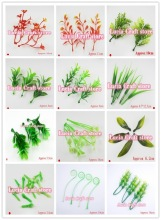 Multi options Artificial plastic flower stamens leaves garden decoration 24pcs/lot 027034011