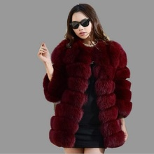 Long mink fur coat sale 2017 new fashion women winter fur imitation fox fur high quality coat artificial fur coat woman
