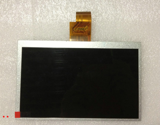 New 7 Tablet HB070NA-01D 1024x600 40P TFT LCD Display Screen panel Matrix Digital Replacement Free Shipping<br>