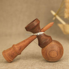 Buy Rose Wood Cherry kendama ball outdoor Fun Sports Skillful Juggling Balls Sword Ball Traditional Game Toys Christmas Gift kids for $20.68 in AliExpress store