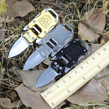 EDC Multifunction Portable Pocket Survival Rescue Folding Knife Camping Mini Peeler Keychain Tactical Hunting Outdoor Tools(China)