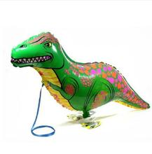 5pcs/lot Dinosaur walking balloons animals inflatable air ballon for dinosaur party supplies kids classic toy