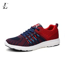 Wholesale Men Sneakers Cheap Breathable Flats Quality Light  Platform Running Sports Shoes Brand Walking Trainers Adults