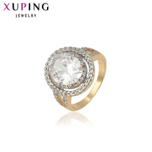 11.11 Deals Xuping Fashion Ring Synthetic CZ European Style Top Quality Rings Party Brand Jewelry Gift 12391