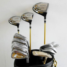 New Golf clubs S-03 3 star Golf complete set of clubs driver+fairway wood+irons+putter+bag Graphite shaft cover free shipping(China)