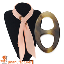 Hight quality can mix order! colourful leopard scarf bukcle Silk Scarf Buckle direct manufacturers custom-made