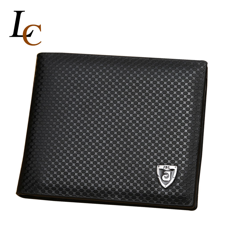 2016 Fashion Men Wallets Famous Brand Dot Leather Wallets with Coin Pocket Purses Wallet for Men Cartera<br><br>Aliexpress