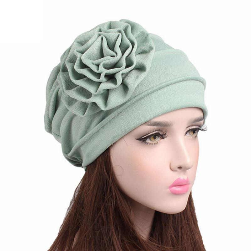 e19156ad5f8 female Winter Hat cotton beanie women for autumn Women Cancer Chemo Hat  Beanie Scarf Turban Head