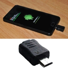 Black Micro USB Jig Download Mode Dongle for Samsung Galaxy S2 S3 S4 Note 1 2 3 S5830 N7100 Phone Module Adaptor