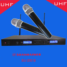 Best quality digital UHF wireless handheld microphone conference meeting lecture vocal amplifier microphone remote speaker(China)