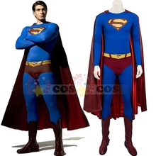 Superman Returns Superman cosplay costume for adult Halloween costumes Men Superhero Superman suit