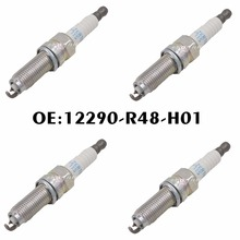 New 4PCS 12290-R48-H01 High Performance Iridium Spark Plug 12290 R48 H01 ILZKR7B 11S For Honda Accord Acura MDX TL TSX(China)